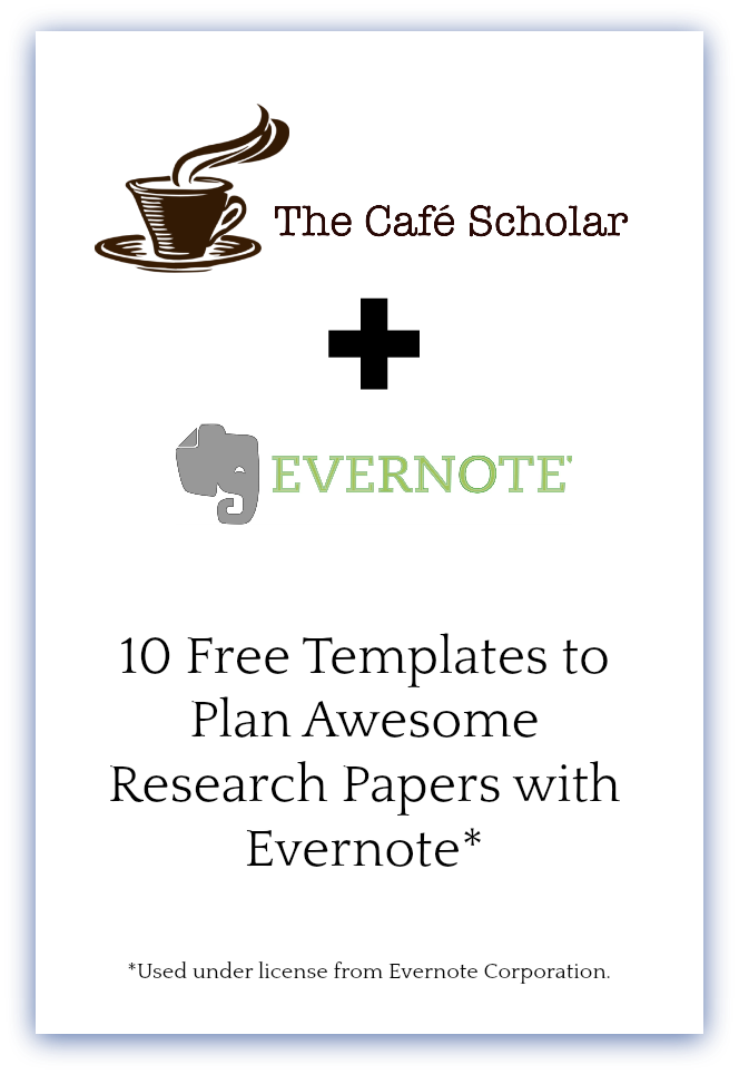 10 FREE Templates to Plan Your Next Research Paper with Evernote